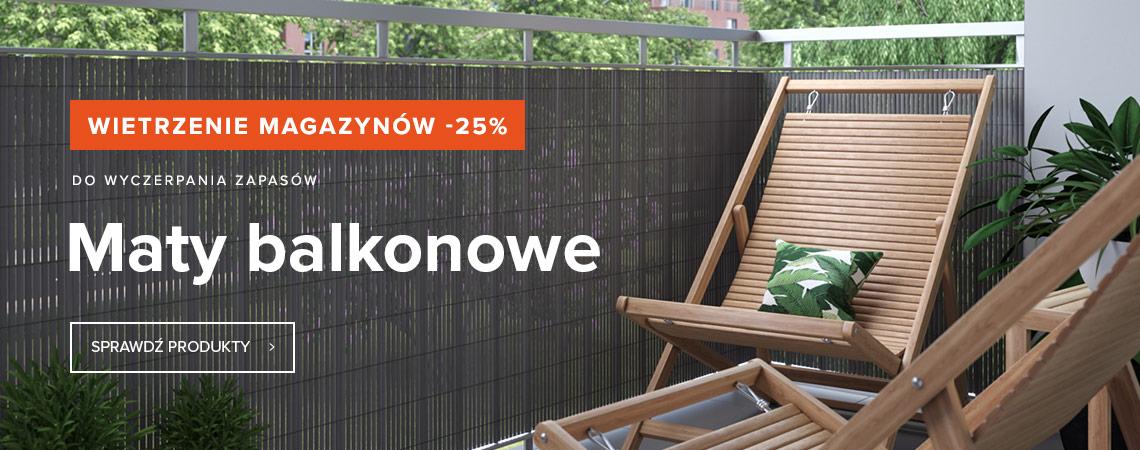 Maty balkonowe -25%